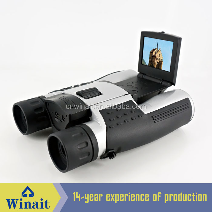 DT-09 Winait Outdoor binocular digital camera 5.0mp HD 720p telescope digital camera with telescope camera 10km