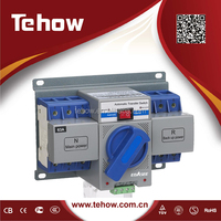 THCB2 220V three phase dual power automatic transfer switch for generator auto transfer switch