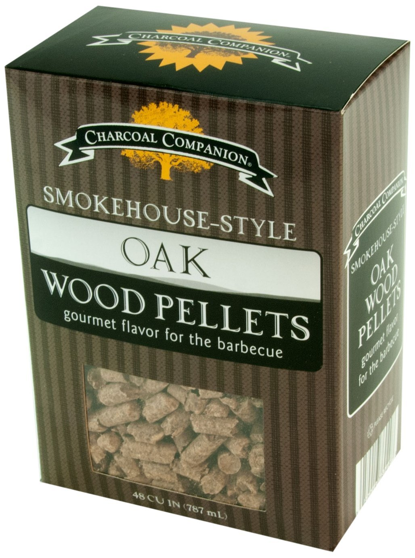 Charcoal Companion Smokehouse-Style Wood Pellets 1 lb (Oak) - CC6049