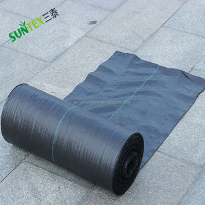 PP Black Woven Polypropylene Weed Control Fabric/Mat in Roll/weed mat thailand