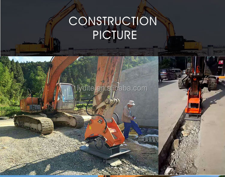 Attachments kubota hydraulic compactor and excavator attachment vibrating compactor and hydraulic plate compactor for sale