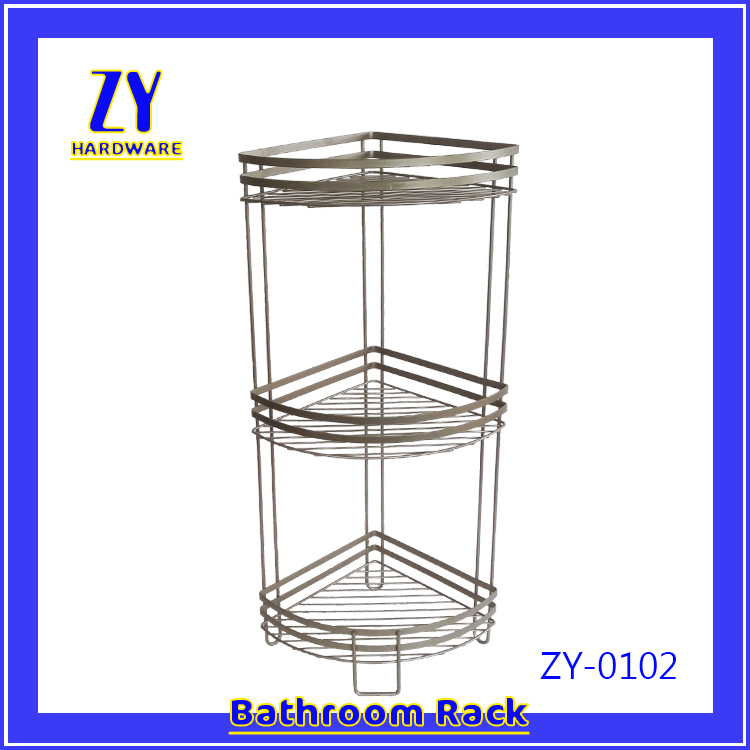 Free sample space saver telescopic bathroom shower shelf ballast manufactured in China