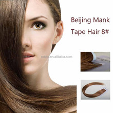 Manka producing double sided tape synthetic hair extension