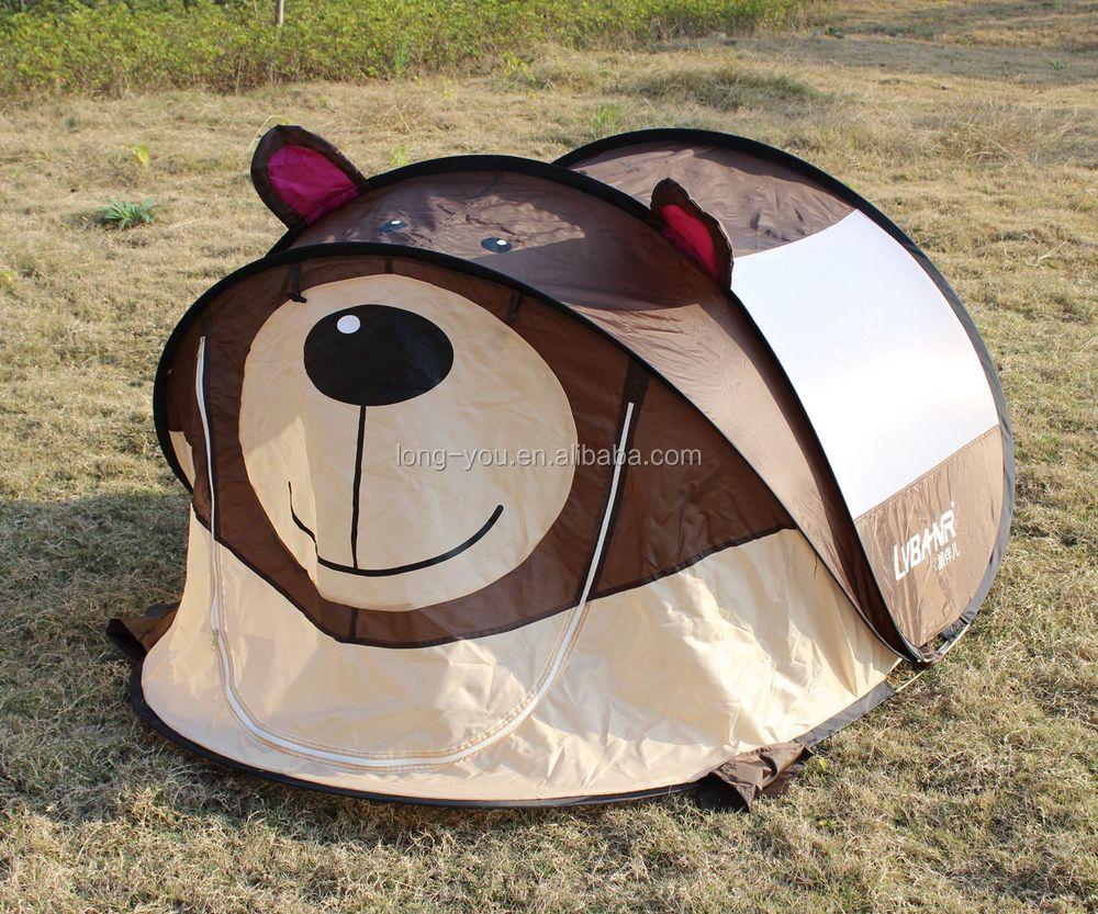 AIOIAI Cute Pink Puppy Kids Indoor Outdoor Play Tent Children Pop Up C&ing Tent & Aioiai Cute Pink Puppy Kids Indoor Outdoor Play Tent Children Pop Up ...