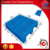 Plastic pallet standard 1000x800mm euro size heavy duty, blue color high quality pallet