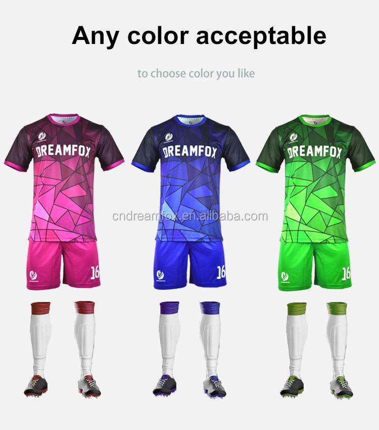 e22d6414dc7de 2018 Nuevo Estilo Taiwán Jersey De Fútbol Poner Tu Nombre Diseño Su ...