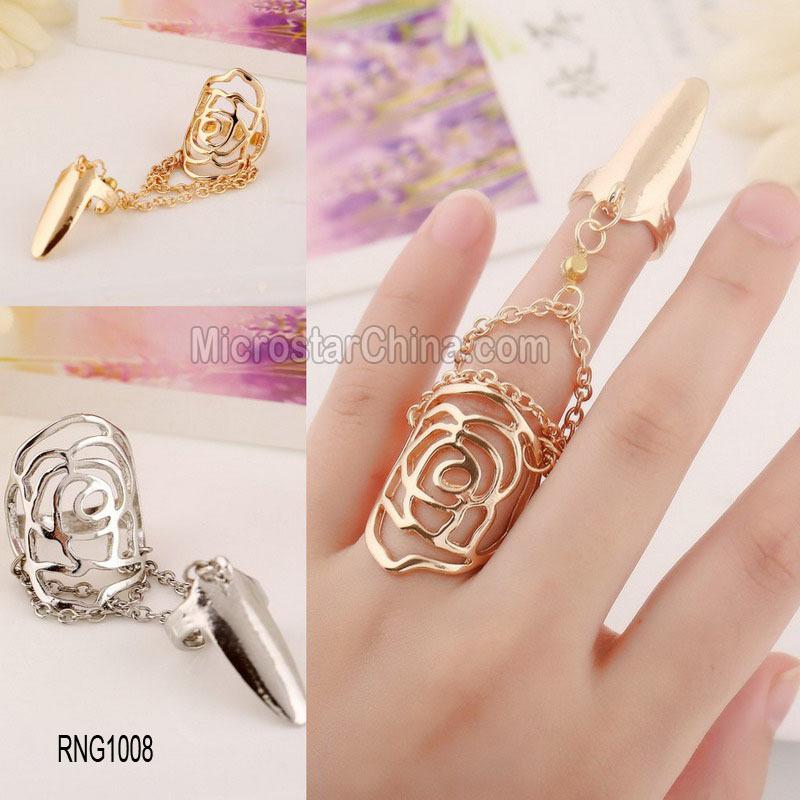 Hot French Personalized Hollow Cuff Diamond Women Beautiful Gold ...