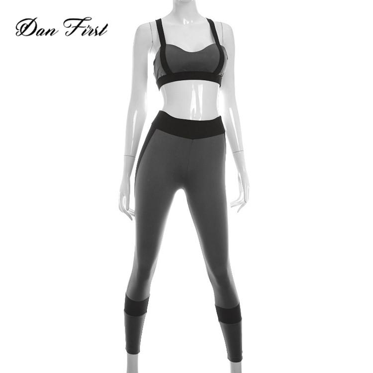 Frauen Yoga Set Sexy Fitness Kleidung Atmungsaktiv Sport Anzug Gepolsterte Stoßfest Bras Yoga-sets Hosen Gym Set Sportswear Workout Kleidung Xl