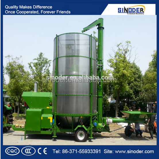 Small mobile grain dryer of Sinoder dryer making equipment