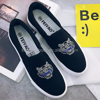 7322b7ab0000 Hot Sale Lady Canvas Shoes Girl School Shoes Loafer Shoes Women ...
