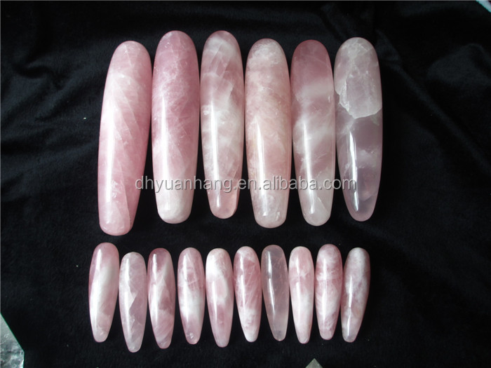 natural crystal yoni massage wands, sexy crystal gemstone healling wands