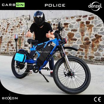Boxon Electric Bike For Police Use Buy Police Ebike