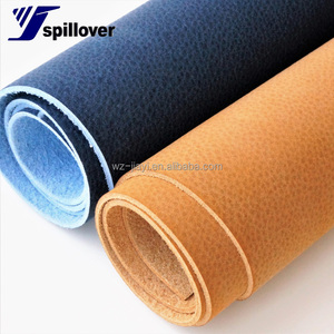 New Fashion PU Microfiber stock Fabric/nubuck Microfiber leather