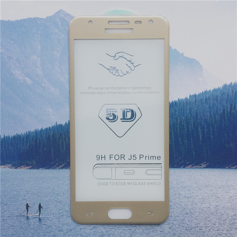 Wholesale Screen Protector Glass With Frame 5D Cold Curved Tempered  Glass