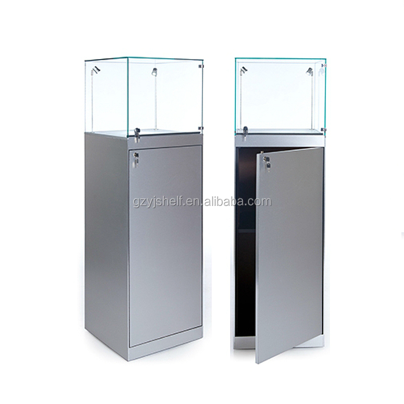 Square With Led Light Jewellery Display Cabinet/jewelry Display ...