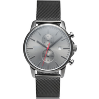 New arrival exclusive men no logo watches fashion with japan miyota movement