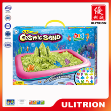 Non-toxic Hot Fashion Kids Magic Sand, Not Sticky Space Dynamic Sand toy For Baby