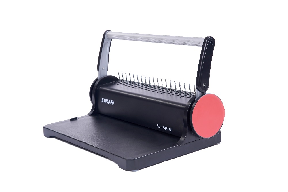 Chinese supply A4 plastic surface binding machine