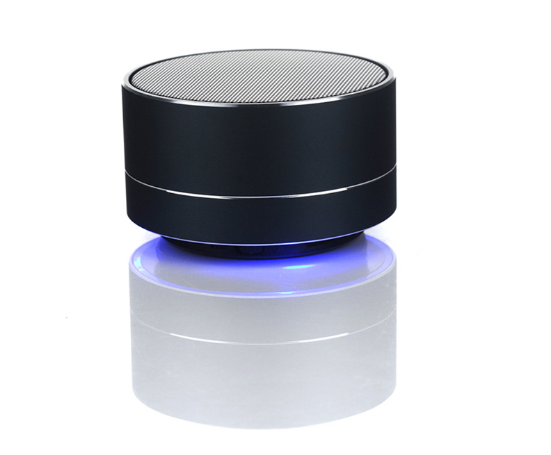 Super Woofer A10 Metal Portable Wireless Speaker Bluetooth New RoHs Bluetooth Speaker for Party