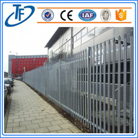 Security Palisade Fence Steel Gate Design Made in Anping (China Supplier)