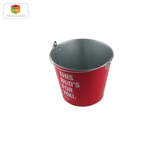 christmas wine tin ice bucket