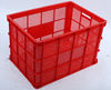 605*430*350mm plastic stacked storage crate vegetables folding plastic crates
