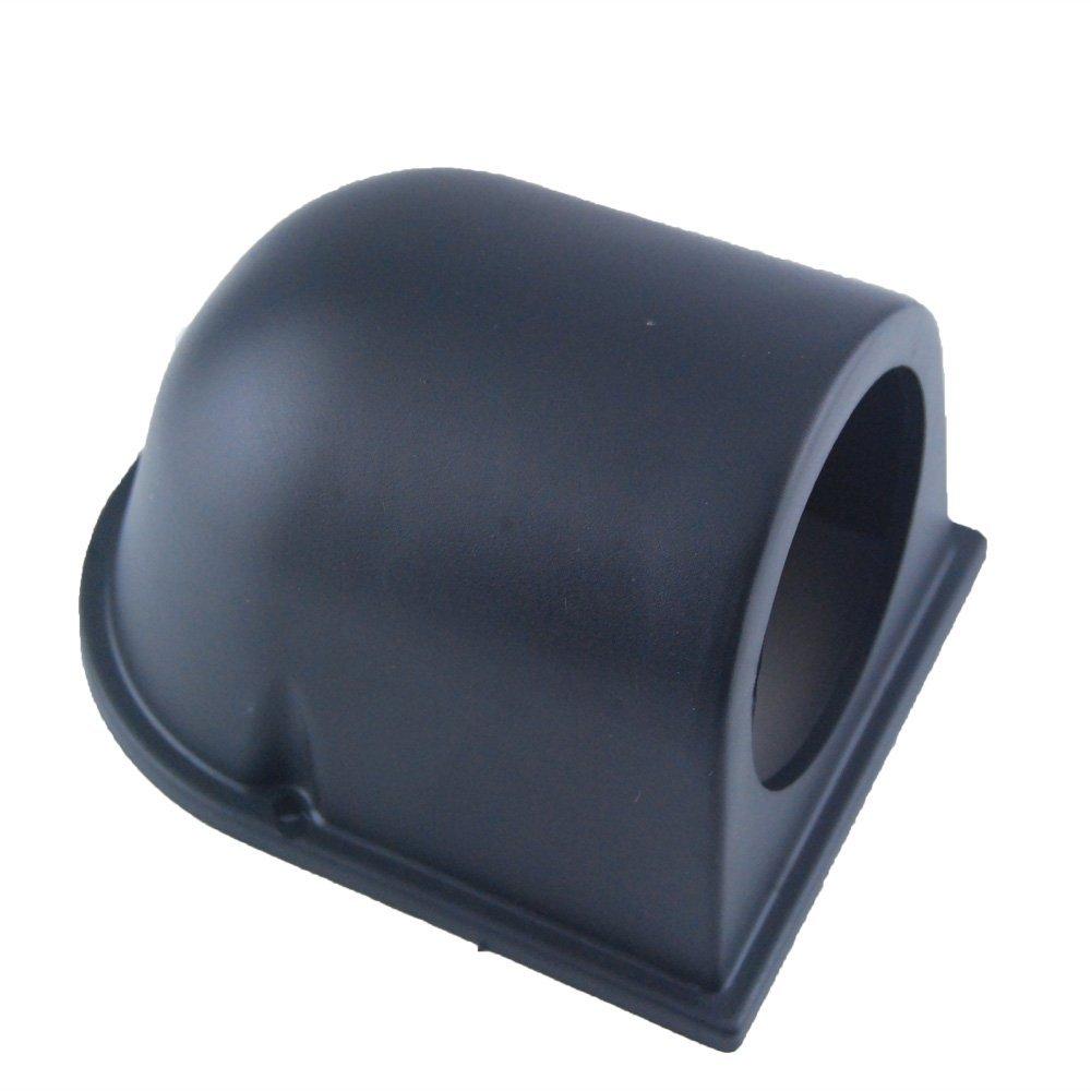 """Black 2/"""" 52mm UNIVERSAL SINGLE HOLE DASH CAR GAUGE POD MOUNT HOLDER ABS Sales"""