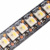 Neutral white 4500k rgbw sk6812 dream color led strip digital black 144 led/m 1m