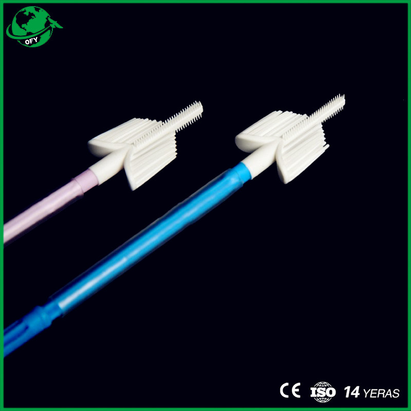 Sterile Disposable Triangle Cervical Cytology Brush