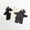 Baby 2 pcs Hoodies Cute Rabbit Ears Toddler Knitting Sweater and Shorts