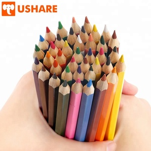Qualified 0.3 cm color lead comfortable grip Hexagon design especially for Art drawing professional Painting Colored Pencils