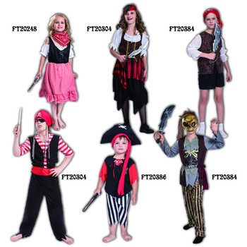 Halloween costumes kids children Caribbean pirate cosplay fancy dress suit and outfit girl and boy party  sc 1 st  Alibaba & Halloween Costumes Kids Children Caribbean Pirate Cosplay Fancy ...