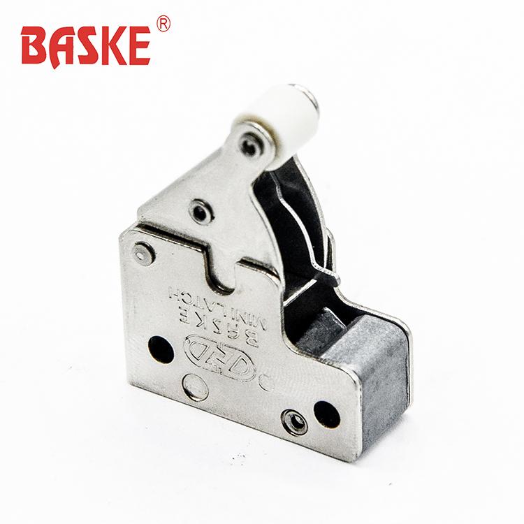 Trappola di alluminio porta con il gesso bordo spingere blocco touch fermo mini fermo
