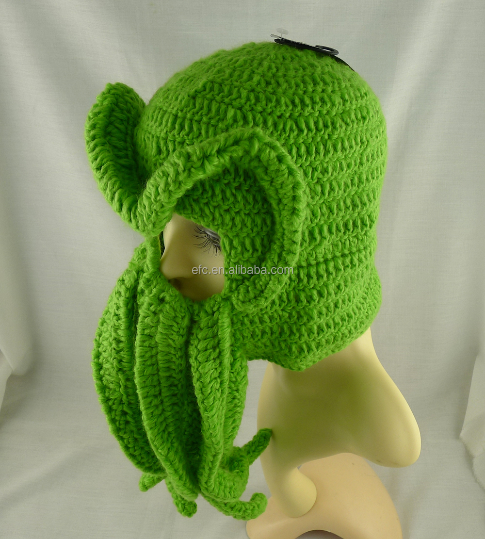 Dorable Cthulhu Ski Mask Crochet Pattern Image - Sewing Pattern for ...