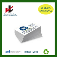 high quality customized printing business card