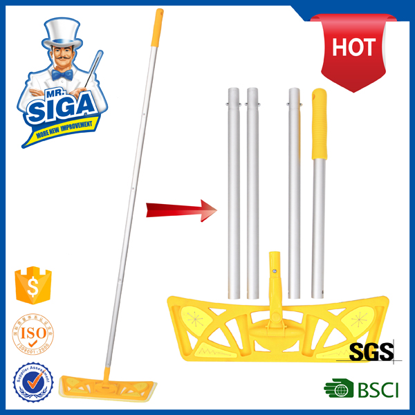 Mr.SIGA 3 in 1 multi-function extensible microfiber velcro flat mop