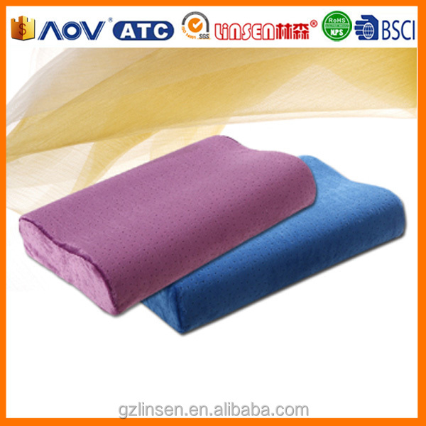 Producing single comfortable pillow memory foam