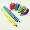 1688 hot selling silicone wrist bands stylus touch screen pen promotion/touch screen stylus pen notebook