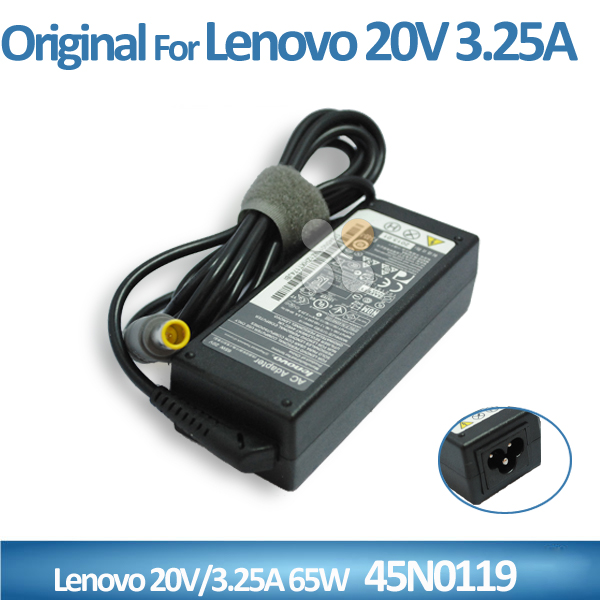 For lenovo X300 laptop 100% original ac/dc power adapter 20V 3.25A 65W