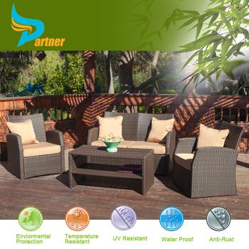 Cast Aluminum Wicker Outdoor Patio Lounge Set/ Garden Line Patio Lounge  Sofa Set
