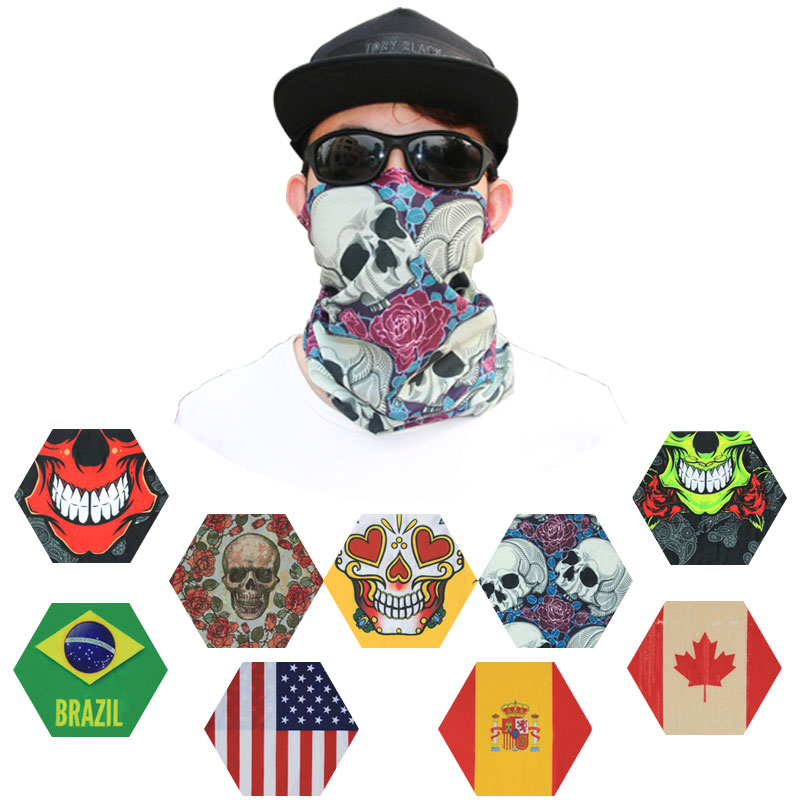 4acd2c80fc Bandana Print Hoodie Multifunction Stretchable Magic Scarf Head Wrap Face  Shield - Buy Mouth Hair Durag Bandana Face Shield,Custom Paisley Silk ...