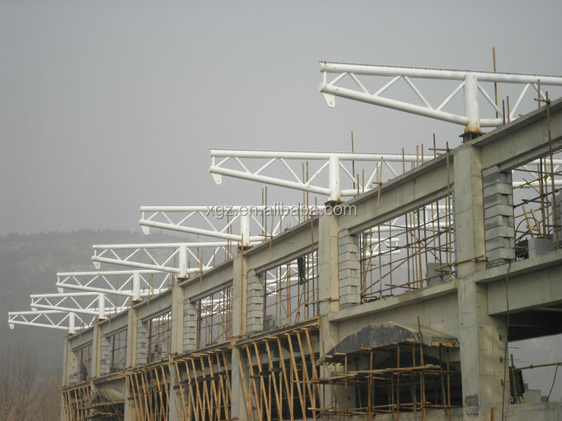 Steel Pipe Truss Tensile Membrane Structure Building