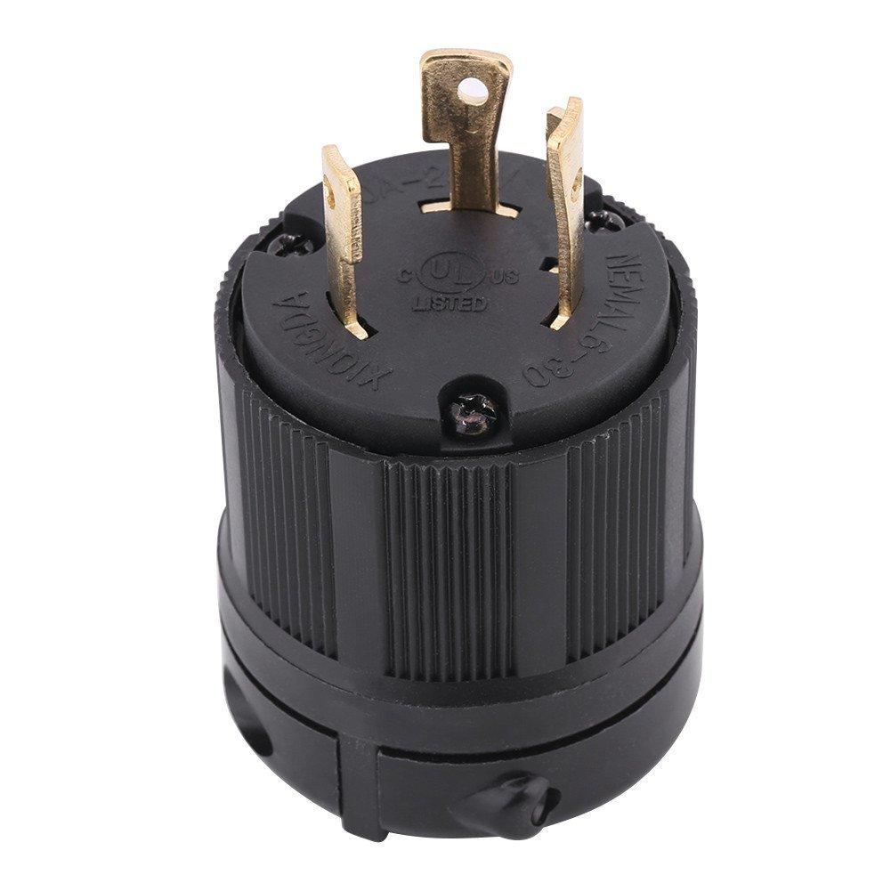 Connector electrical lock midget twist agree