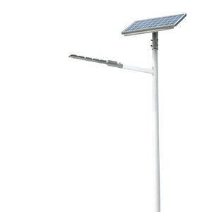single arm 12 or 24 volt led solar light street 20w 30w 40w 50w 60w hot white outdoor solar energy lights for walkway