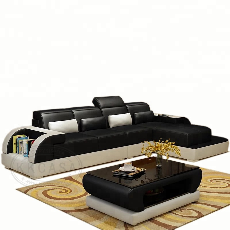 European Living Room Modern Sectional New Designs Corner Luxury Small l shaped <strong>sofa</strong>
