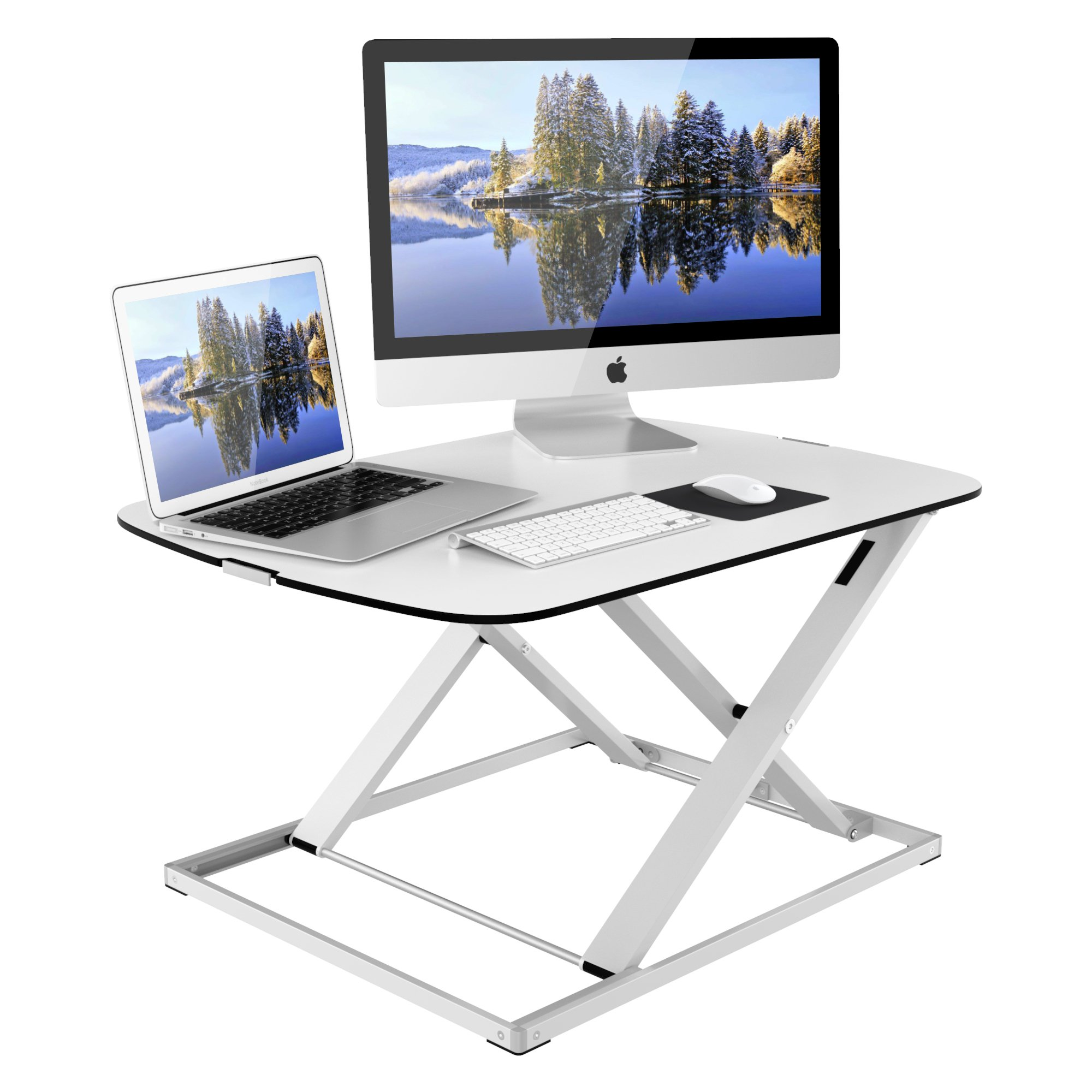 desk product woo slim minko design white