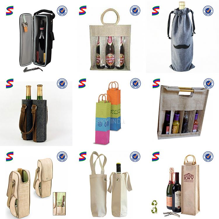 Organza Wine Gift Bag Packaging Bag For Wine