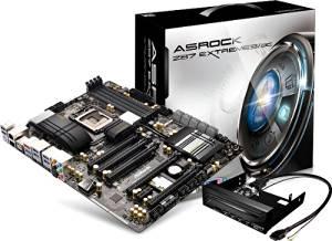 ASRock LGA1150/Intel Z87/DDR3/Quad CrossFireX and Quad SLI/SATA3 and USB 3.0/Wi-Fi/A&2GbE/ATX Motherboard Z87 EXTREME9/AC