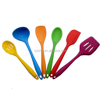 5pcs/set Fda Approved Silicone Cooking Tools Names Of Kitchen ...