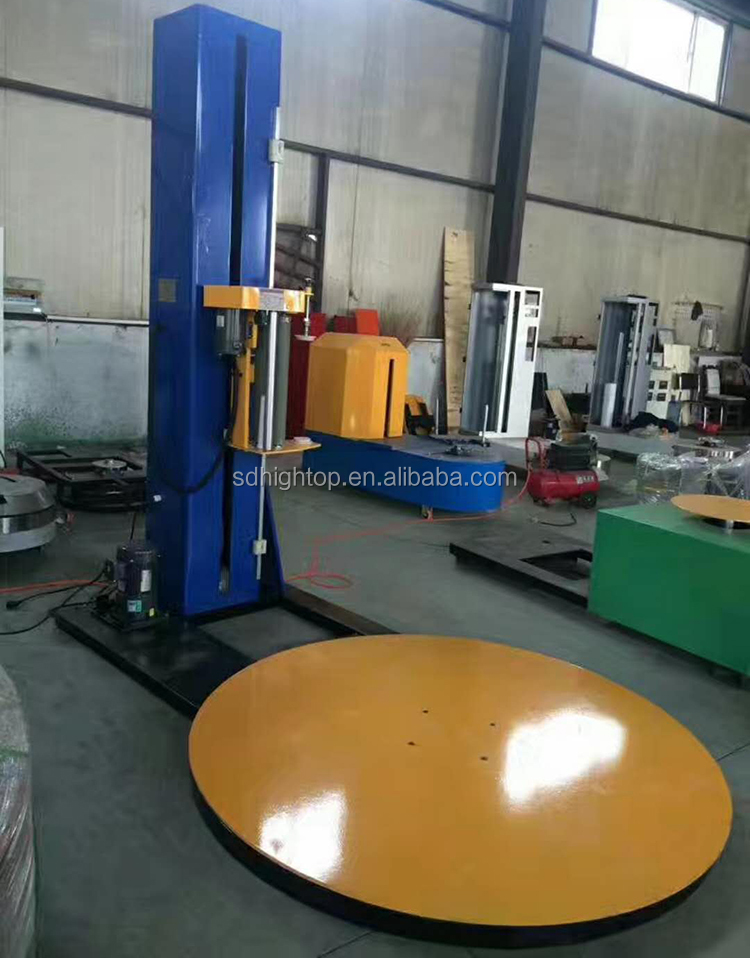 T1650f Series Automatic Pallet Stretch Wrap Machine with CE Certification